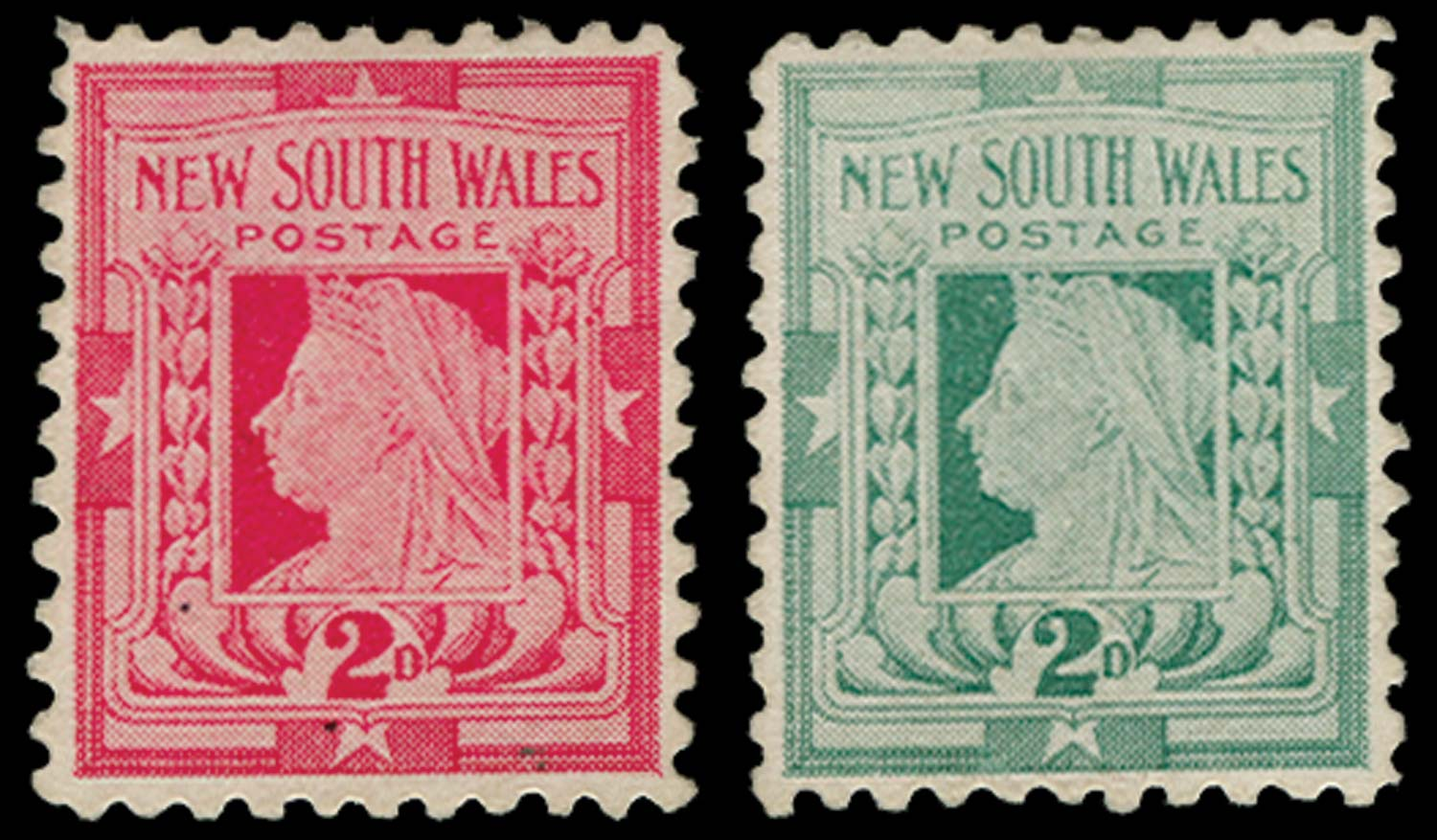 NEW SOUTH WALES 1897  SG292 Essay