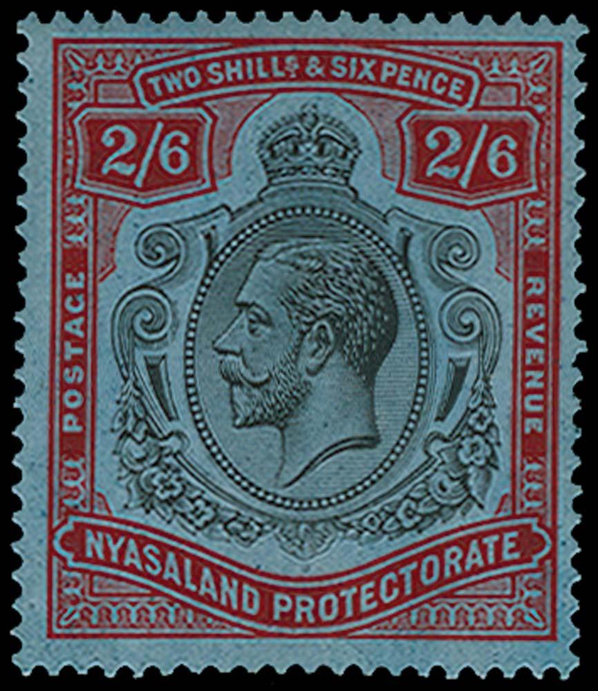 NYASALAND 1921  SG110e Mint