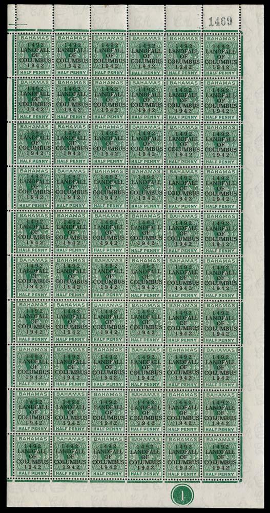 BAHAMAS 1942  SG162/c Mint