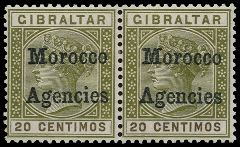 MOROCCO AGENCIES 1898  SG3/a Mint