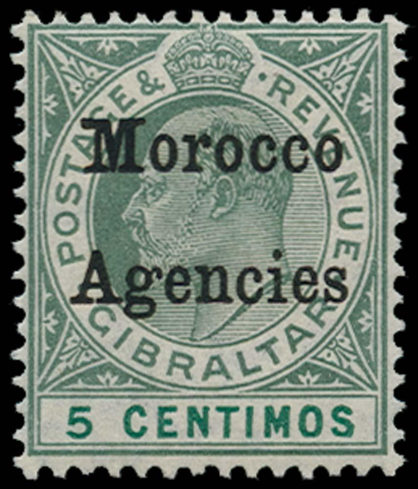MOROCCO AGENCIES 1905  SG24b Mint