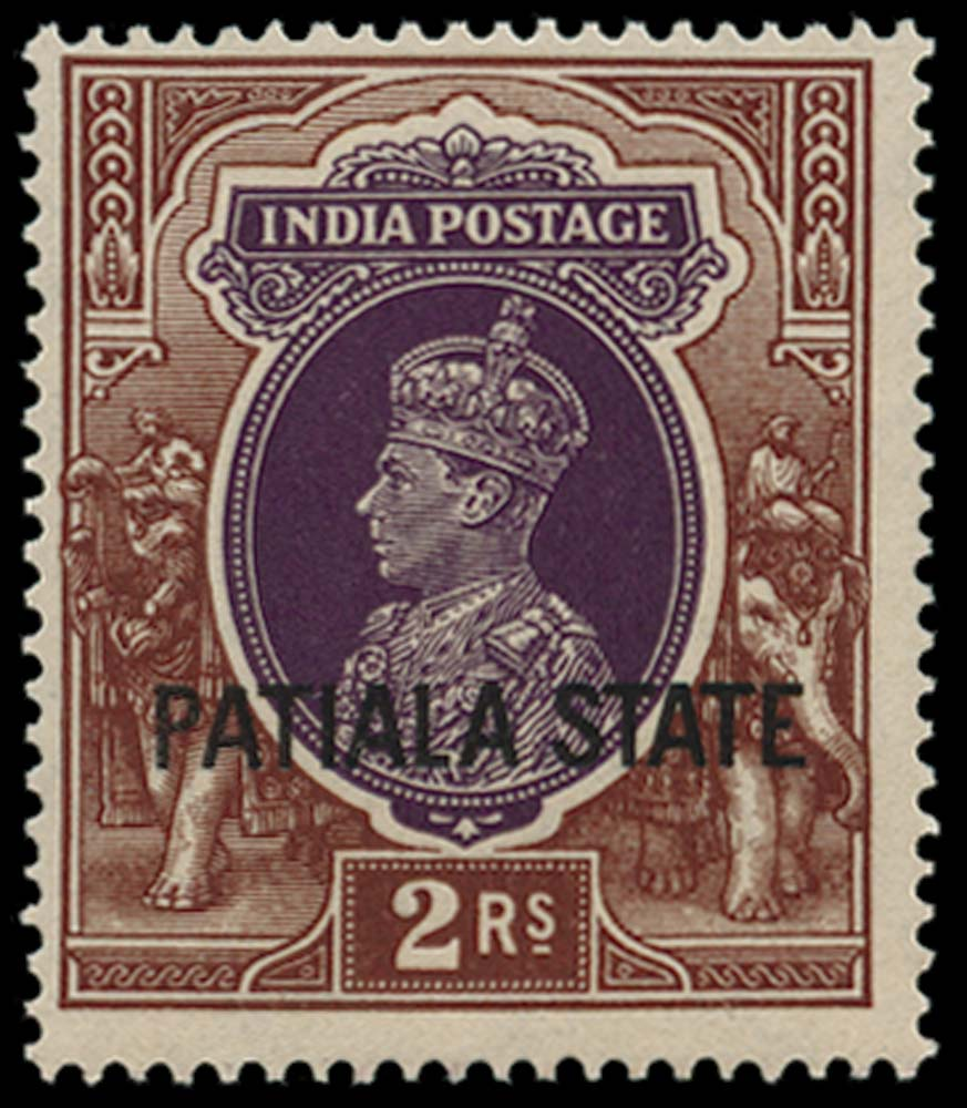 I.C.S. PATIALA 1937  SG93 Mint