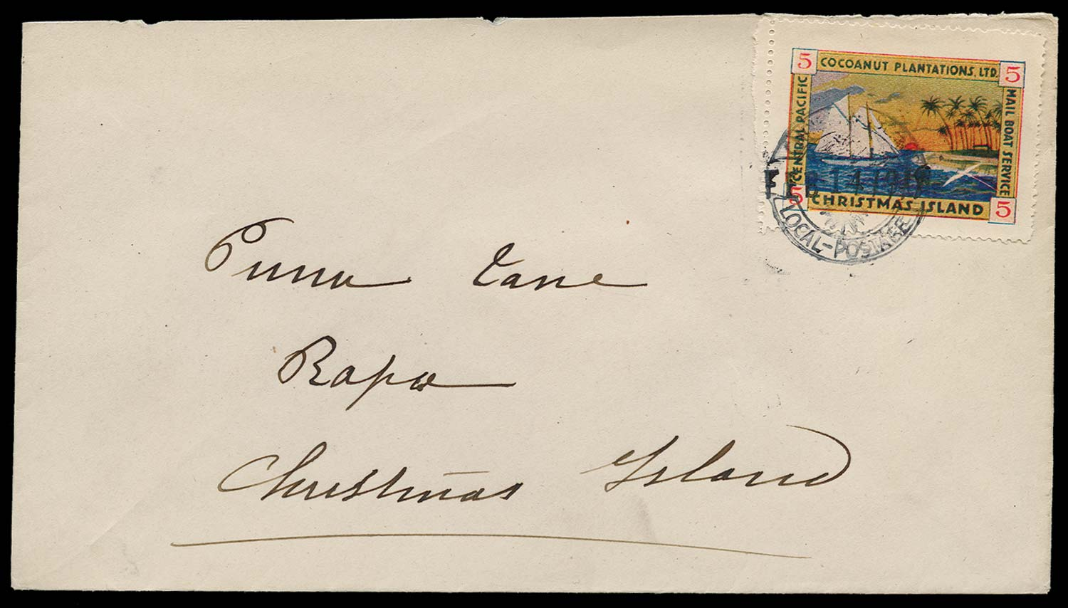 GILBERT & ELLICE IS 1919  SG. Cover