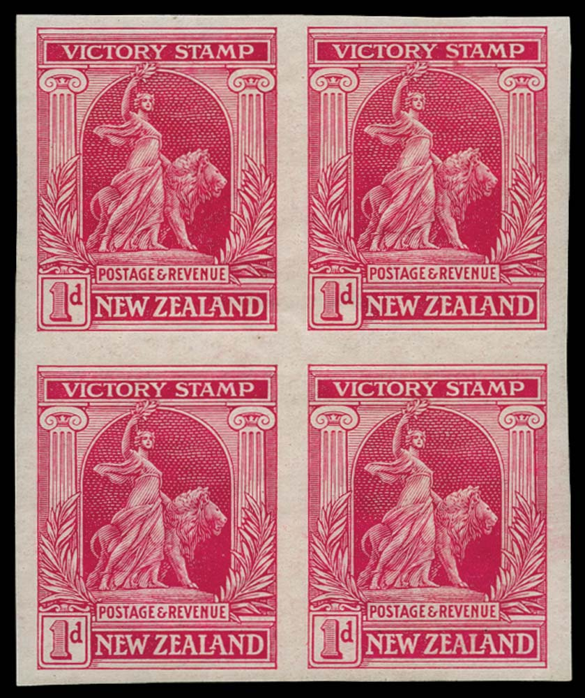 NEW ZEALAND 1920  SG454a Proof
