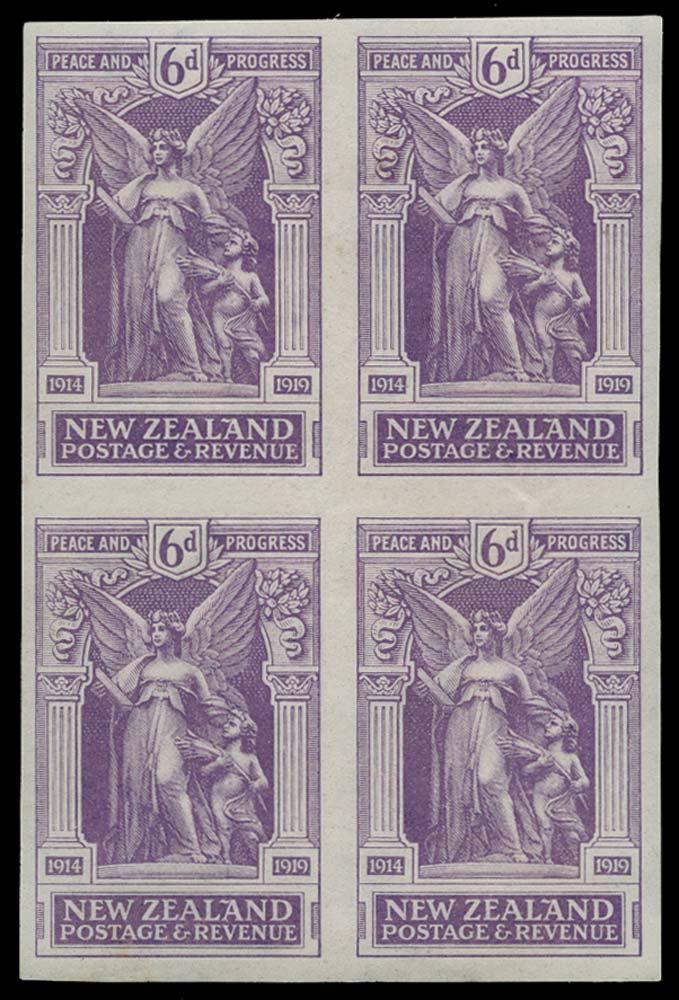 NEW ZEALAND 1920  SG457 Proof