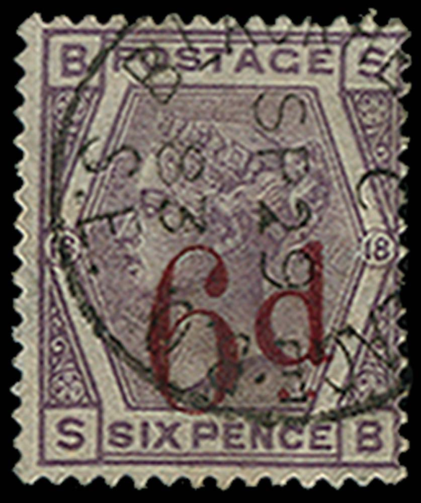 GB 1883  SG162 Pl.18 Used