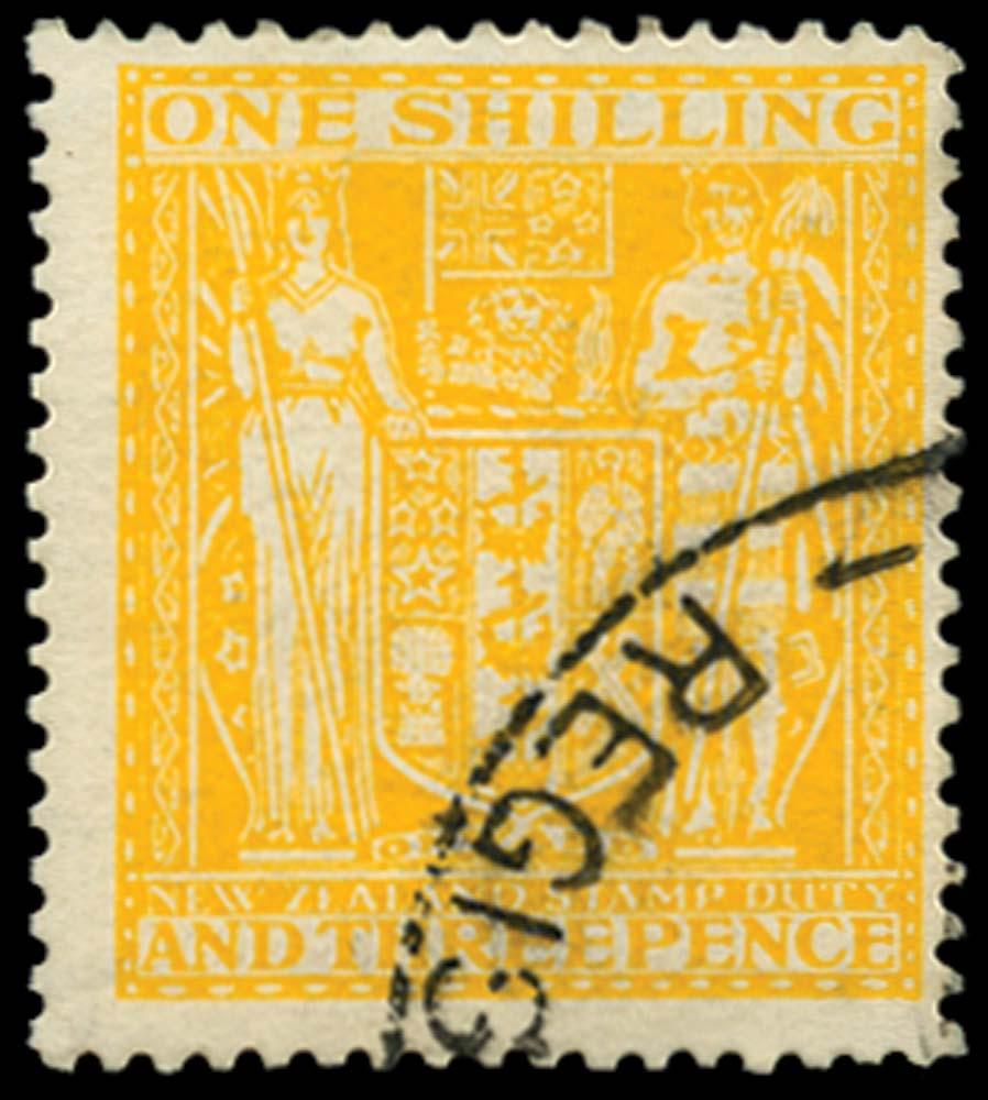 NEW ZEALAND 1931-40  SGF145 Postal Fiscal