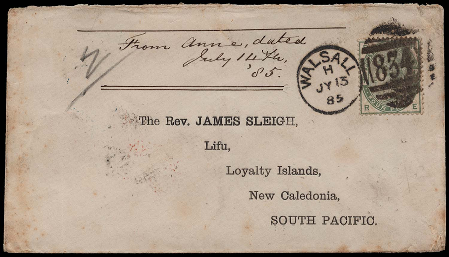 GB 1885  SG192 Cover