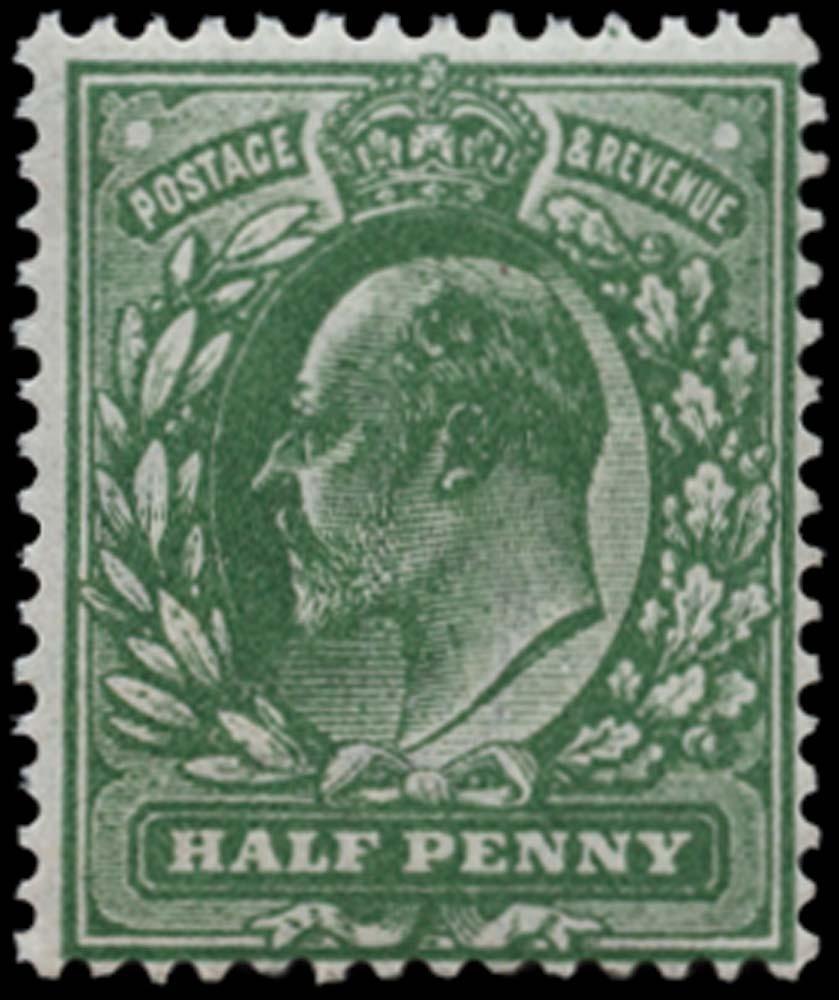 GB 1911  SG269var Mint
