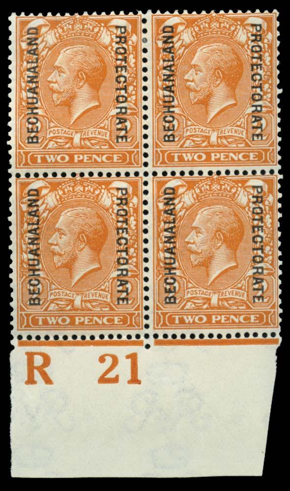 BECHUANALAND 1913-24  SG76a Mint