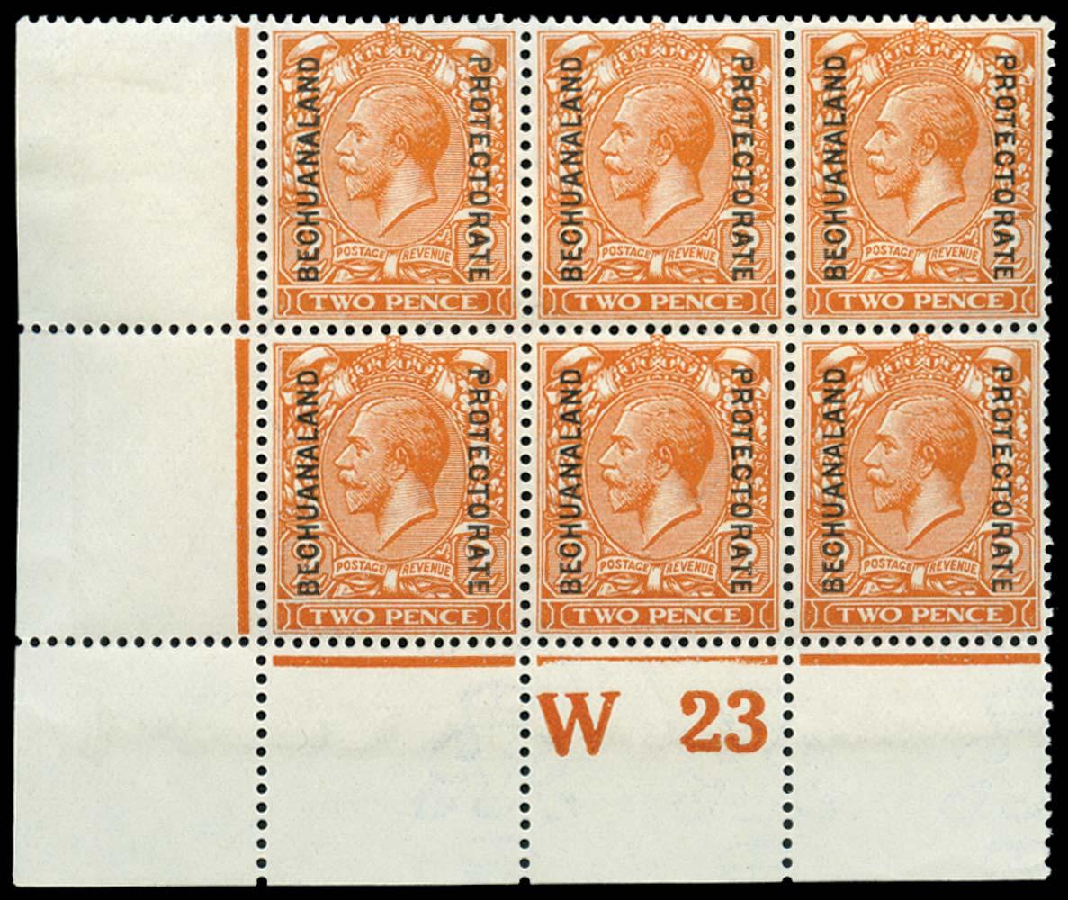 BECHUANALAND 1913-24  SG77 Mint