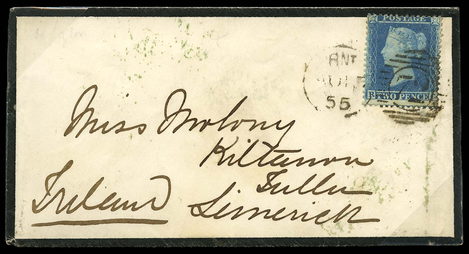 GB 1855  SG23a Pl.5 Cover