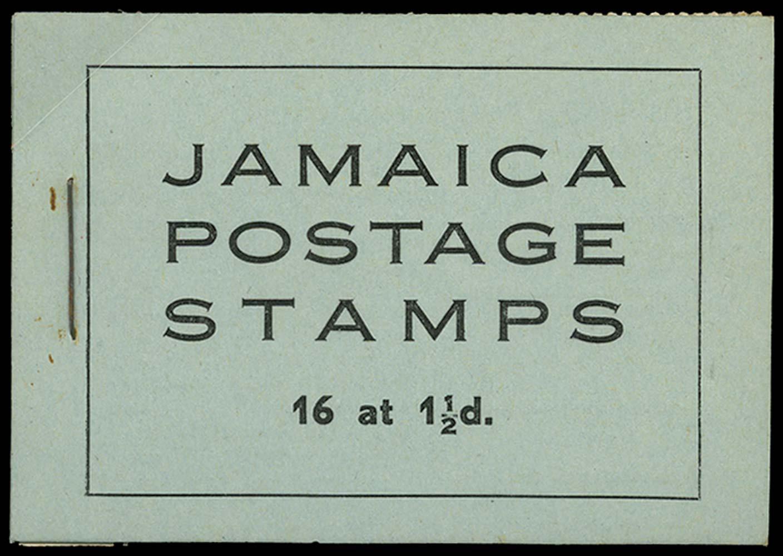 JAMAICA 1946  SGSB12 Booklet