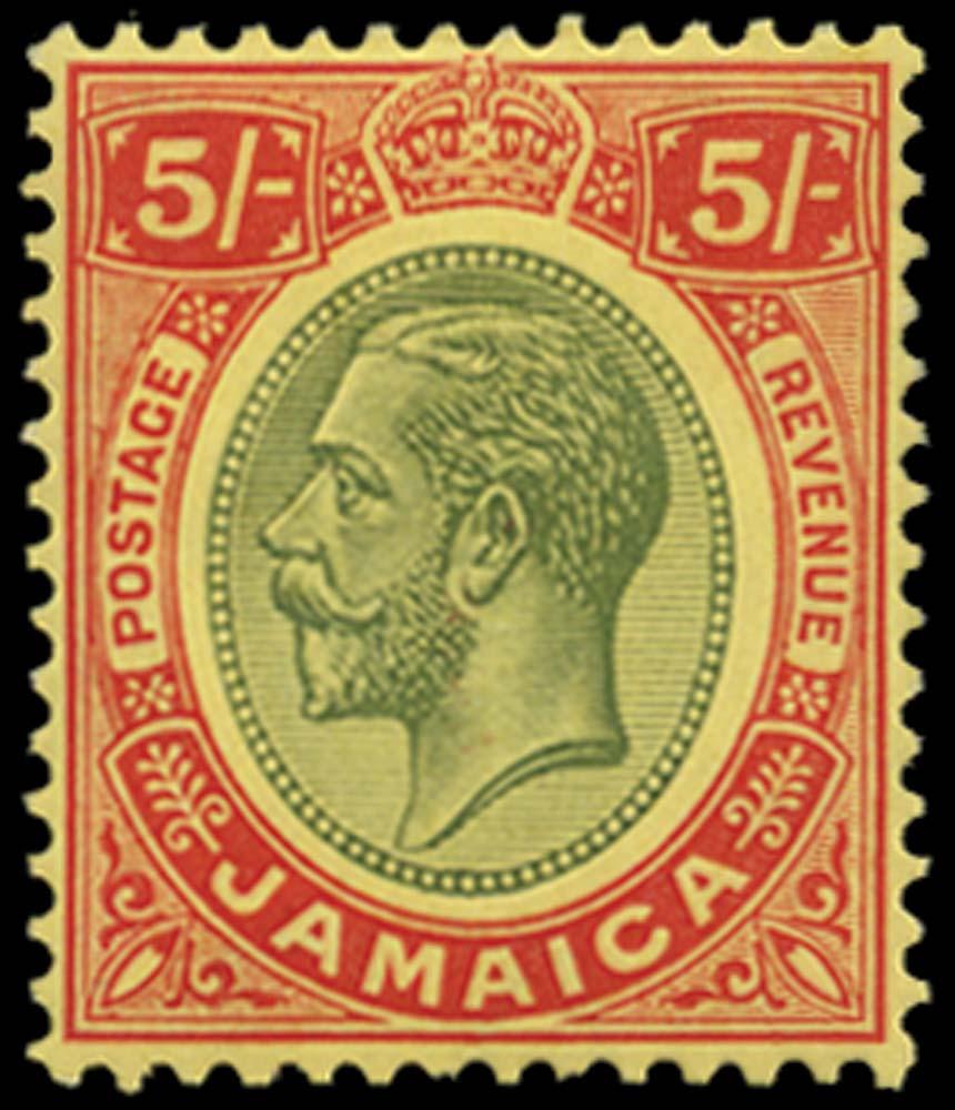 JAMAICA 1912  SG67 Mint