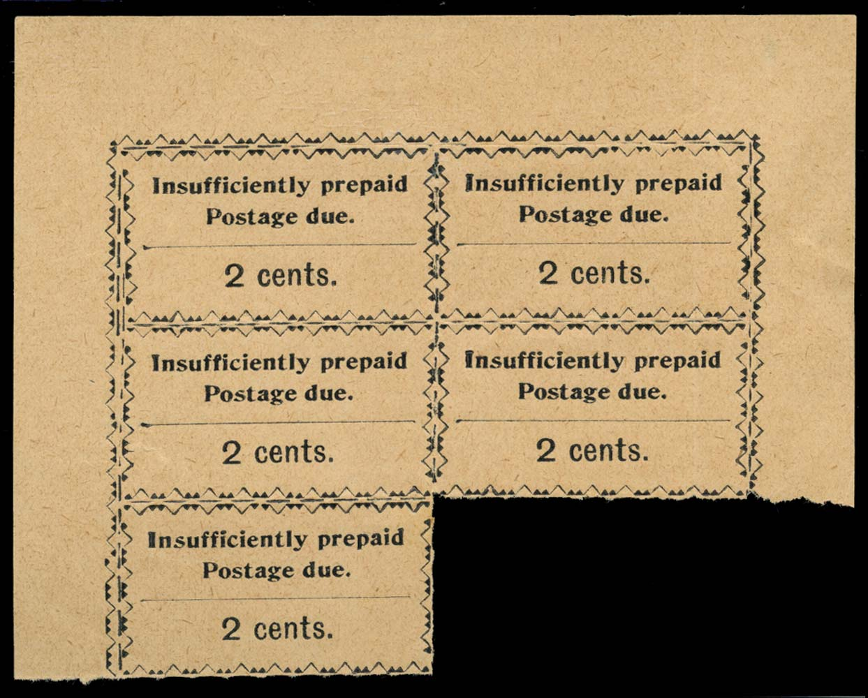 ZANZIBAR 1930-3  SGD18 Postage Due