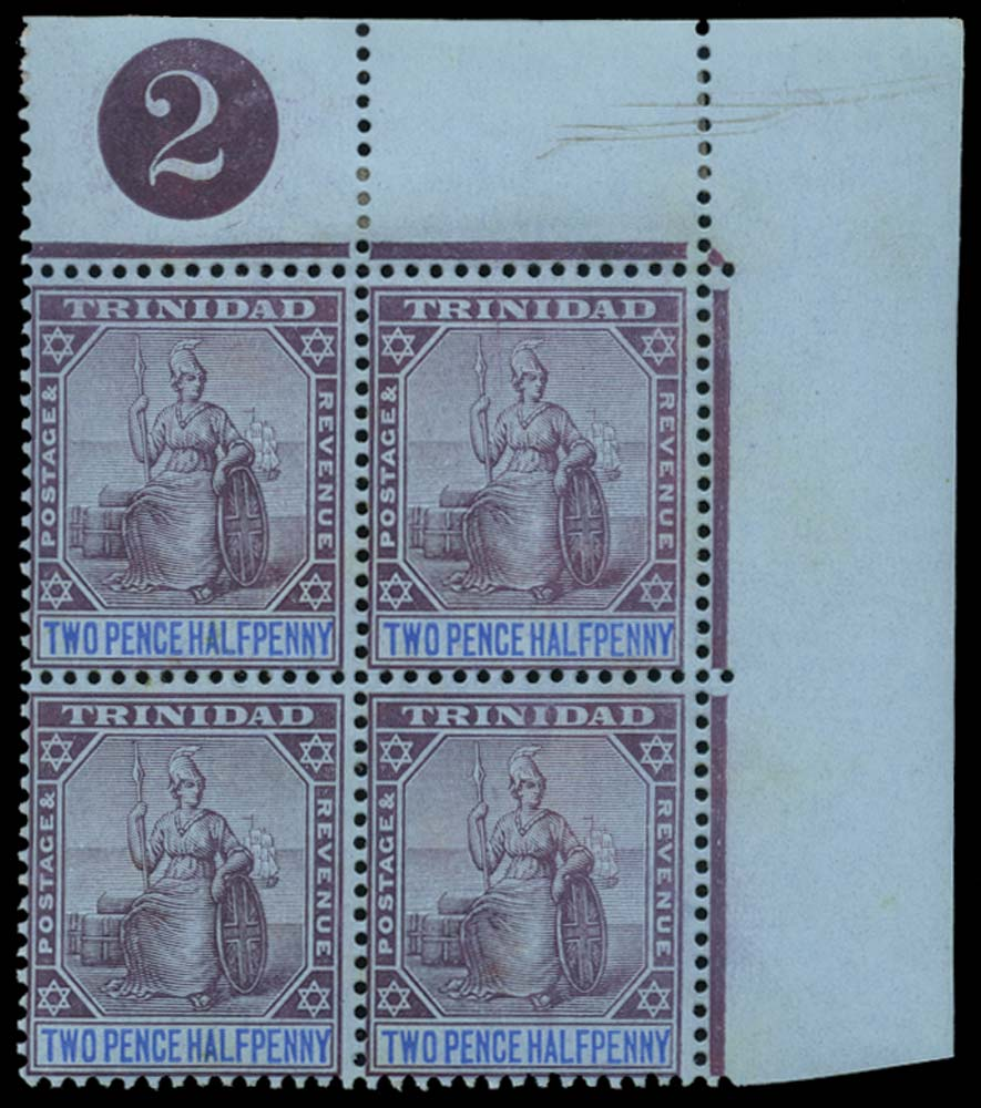 TRINIDAD 1904  SG136 Mint