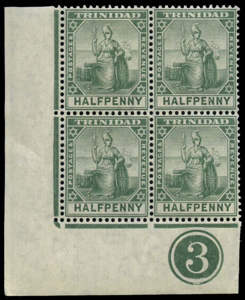 TRINIDAD 1904  SG133b Mint