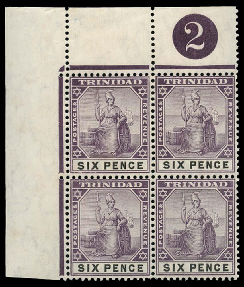 TRINIDAD 1904  SG139 Mint