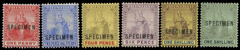 TRINIDAD 1904  SG135s/43s Specimen
