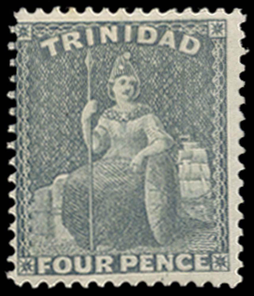 TRINIDAD 1863  SG76 Mint