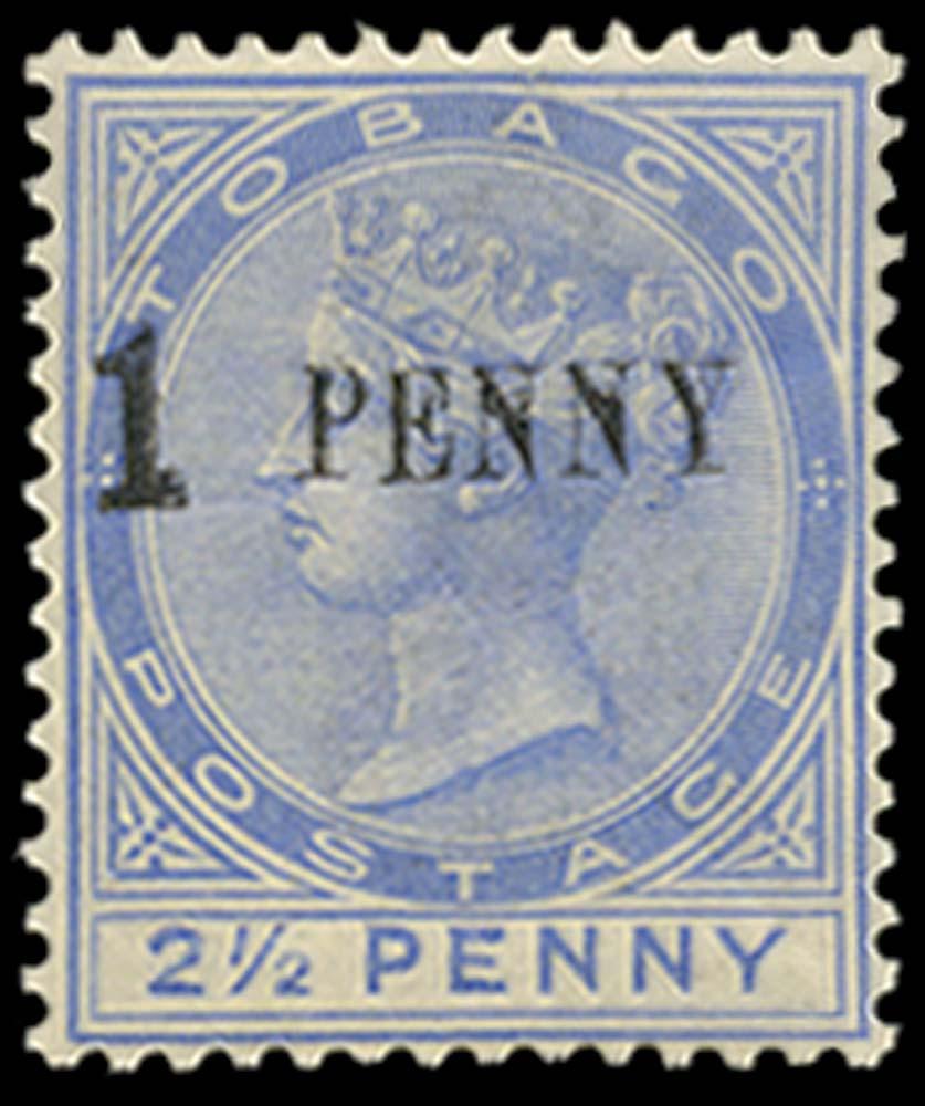 TOBAGO 1886  SG29a Mint