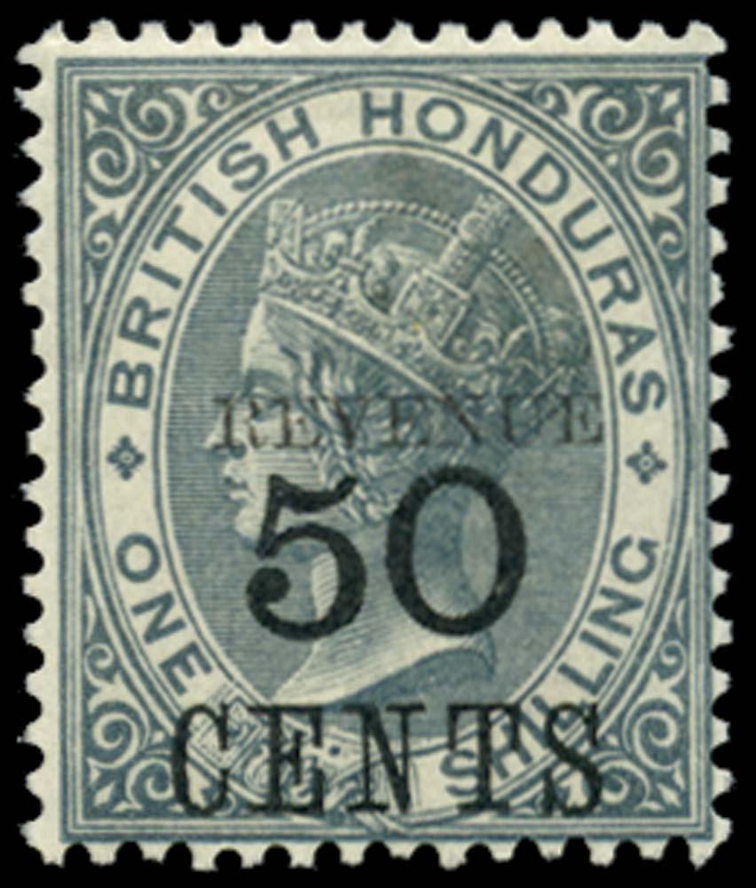 BRITISH HONDURAS 1899  SG69c Mint