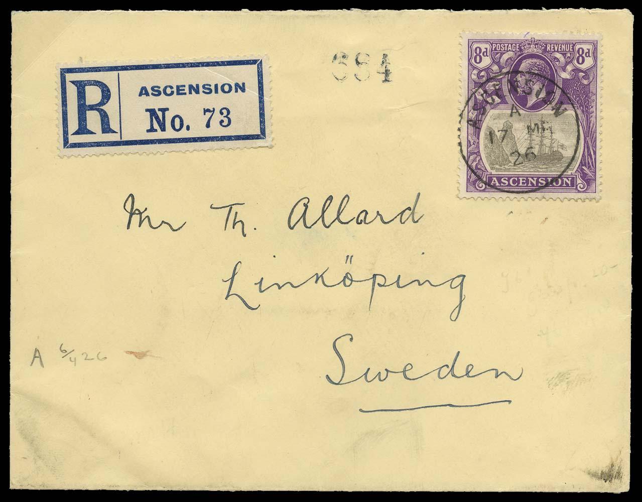 ASCENSION 1926  SG17 Cover