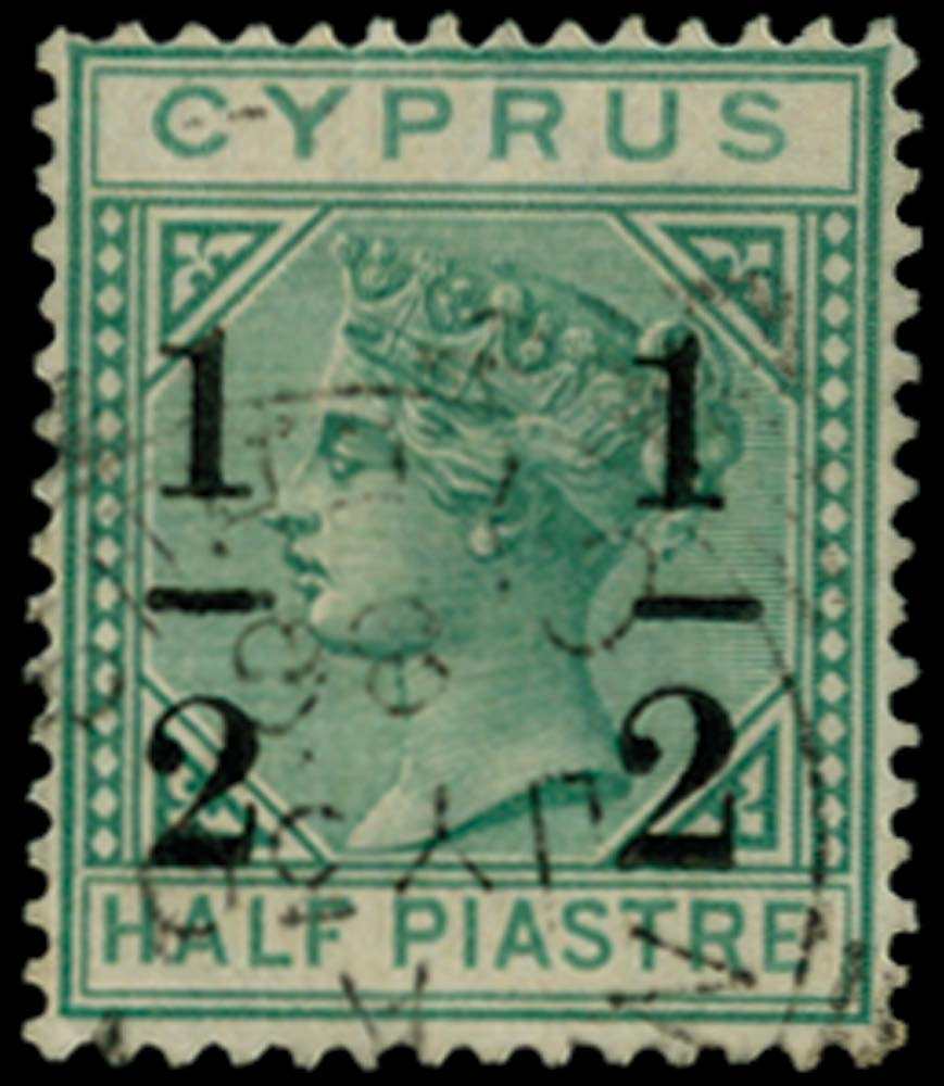 CYPRUS 1886  SG29d Used