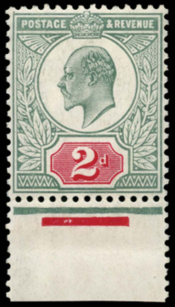 GB 1907  SG229 Mint