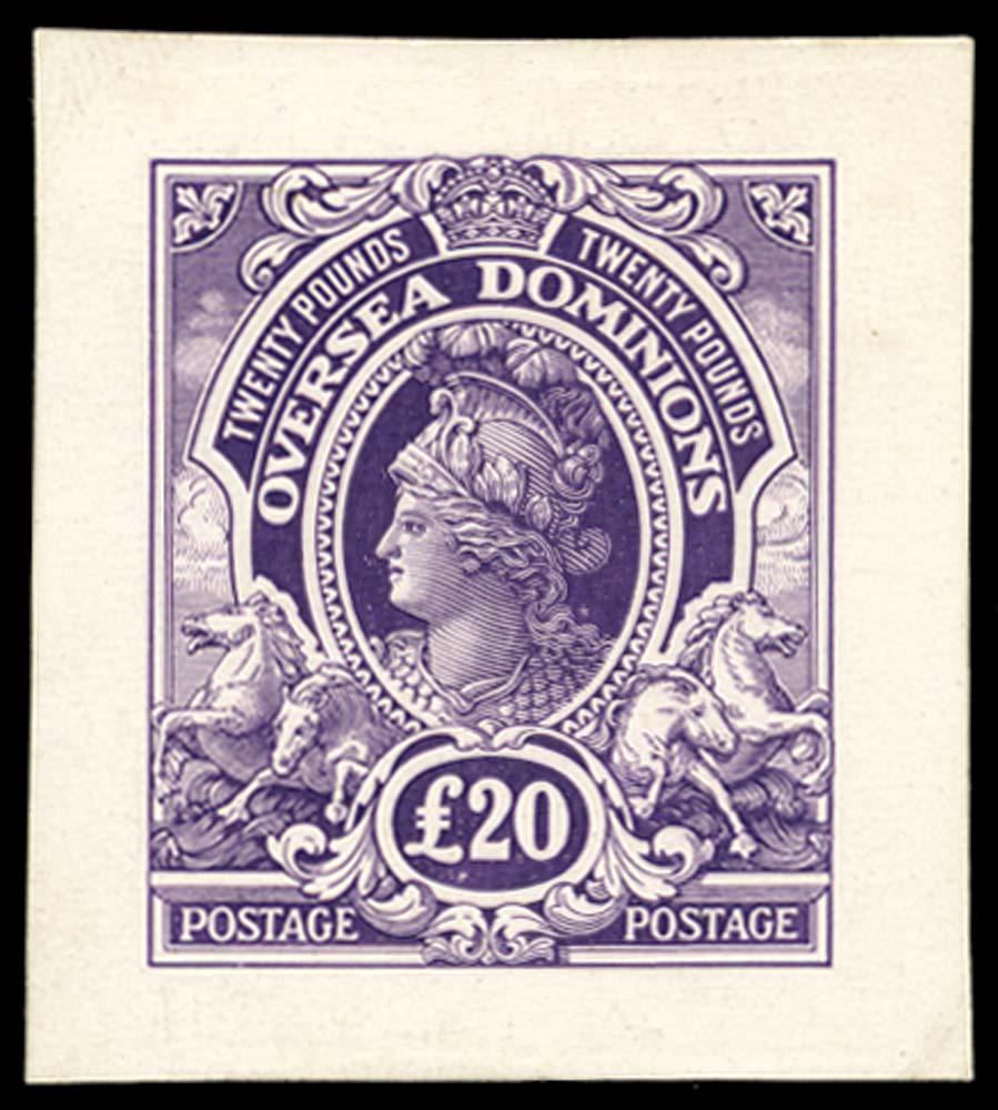 BRITISH COMMONWEALTH 1910(c) Proof