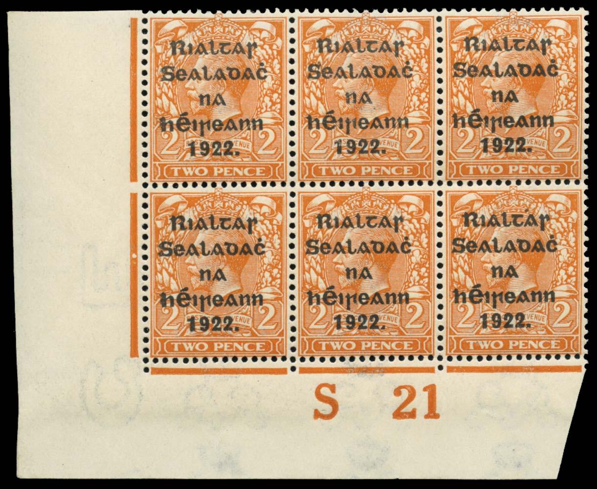 IRELAND 1922  SG12 Mint
