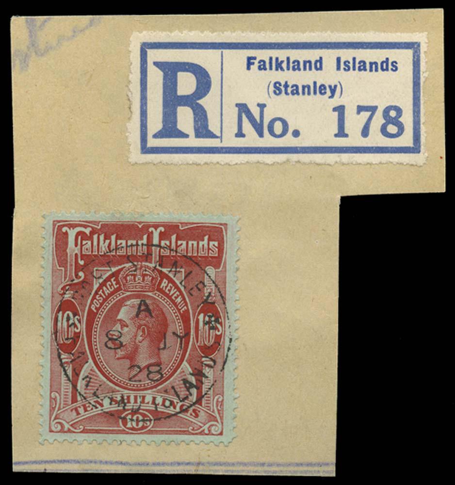 FALKLAND ISLANDS 1912  SG68 Used