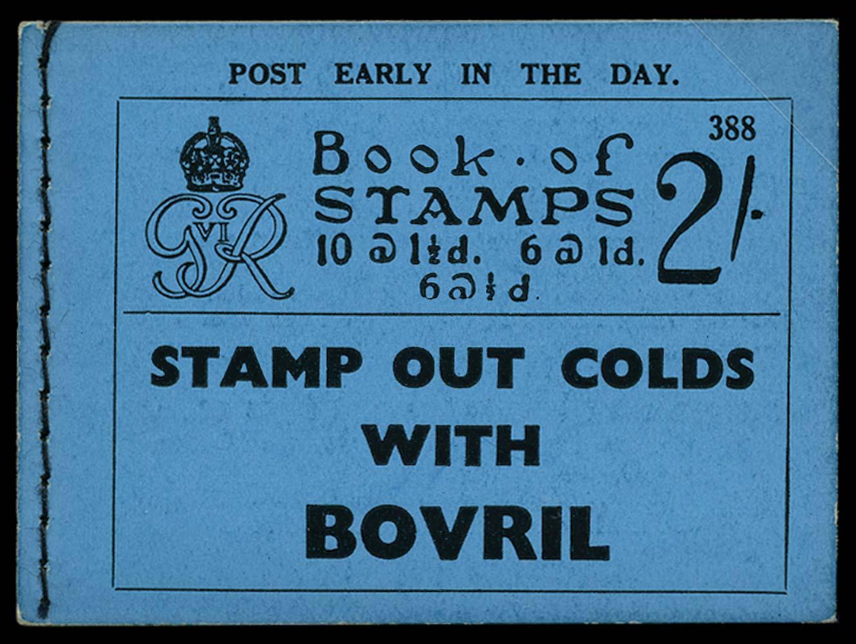 GB 1937  SGBD11 Booklet (Edition 388)