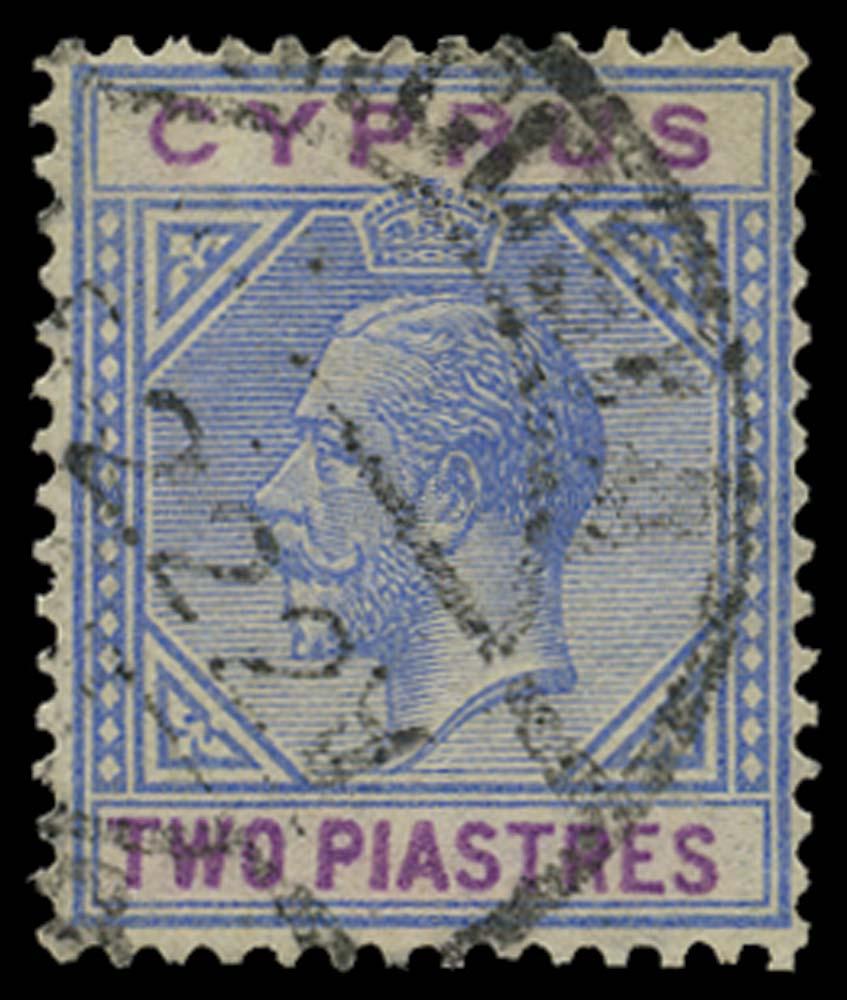 CYPRUS 1921  SG92a Used