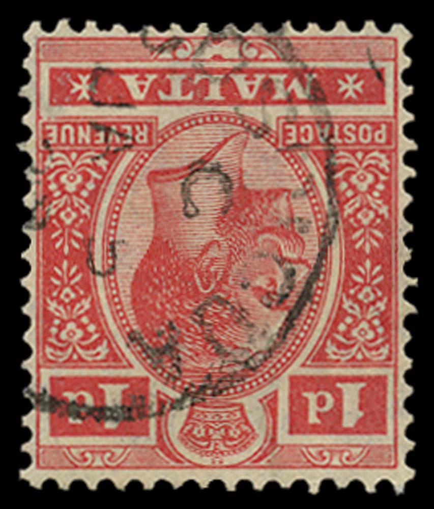 MALTA 1921  SG99w Used