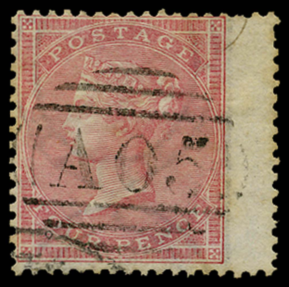 BAHAMAS 1858  SGZ3 Cancel