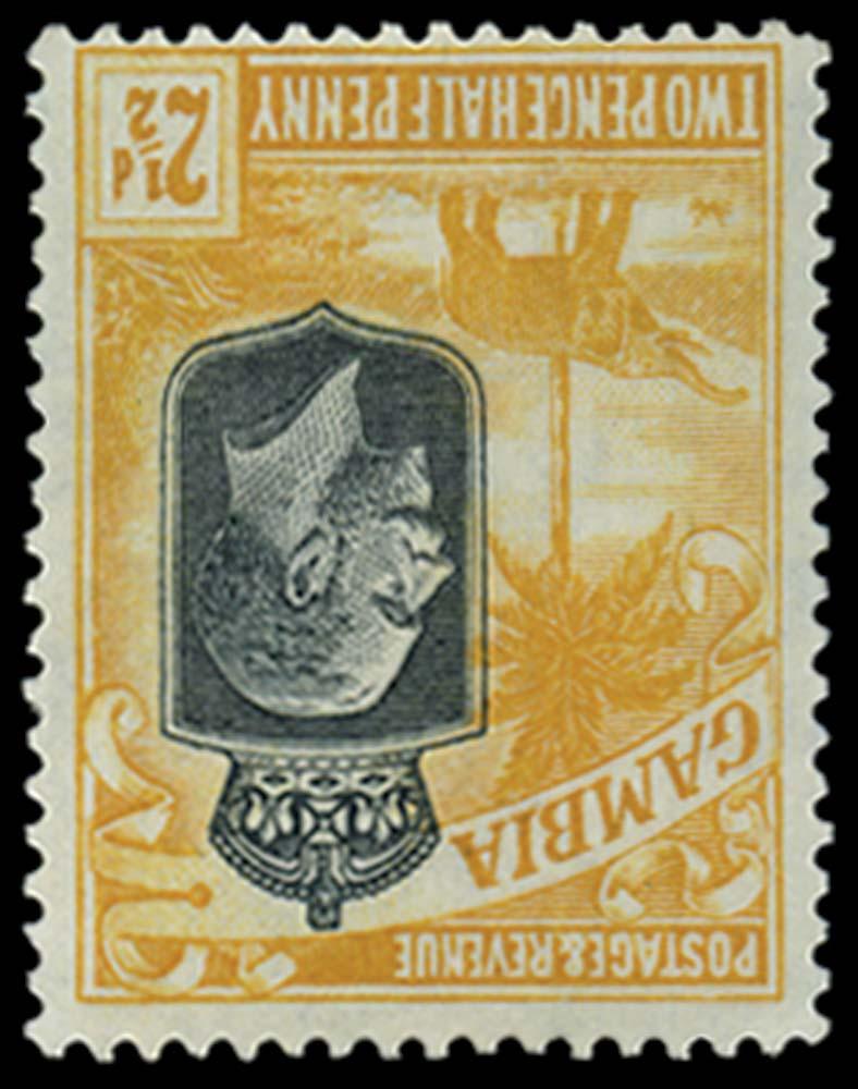 GAMBIA 1922  SG127w Mint
