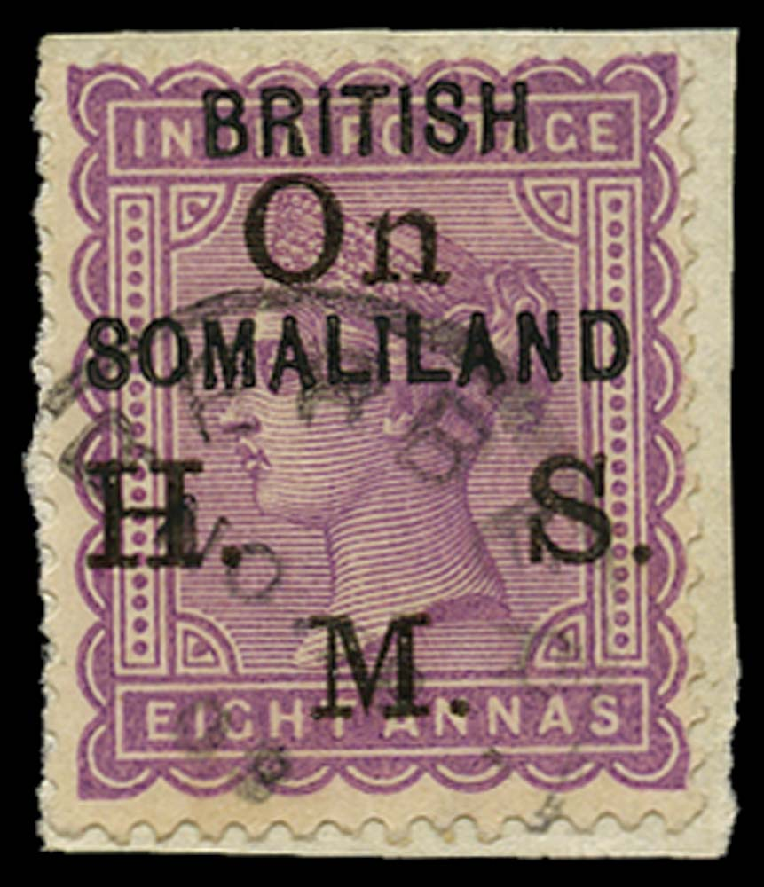 SOMALILAND PROTECT 1903  SGO4 Used