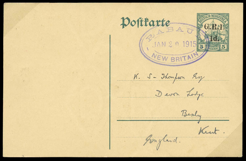 NEW GUINEA 1914 Cover