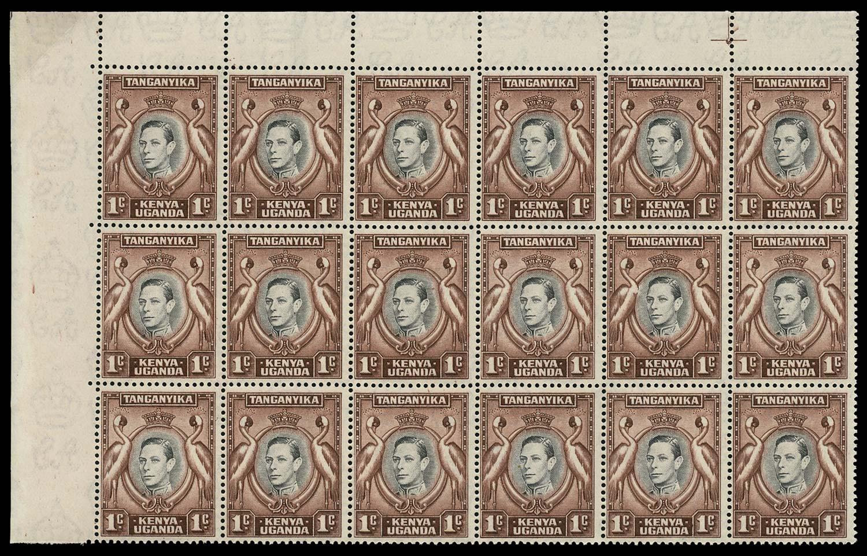 KUT 1938  SG131a/ae Mint