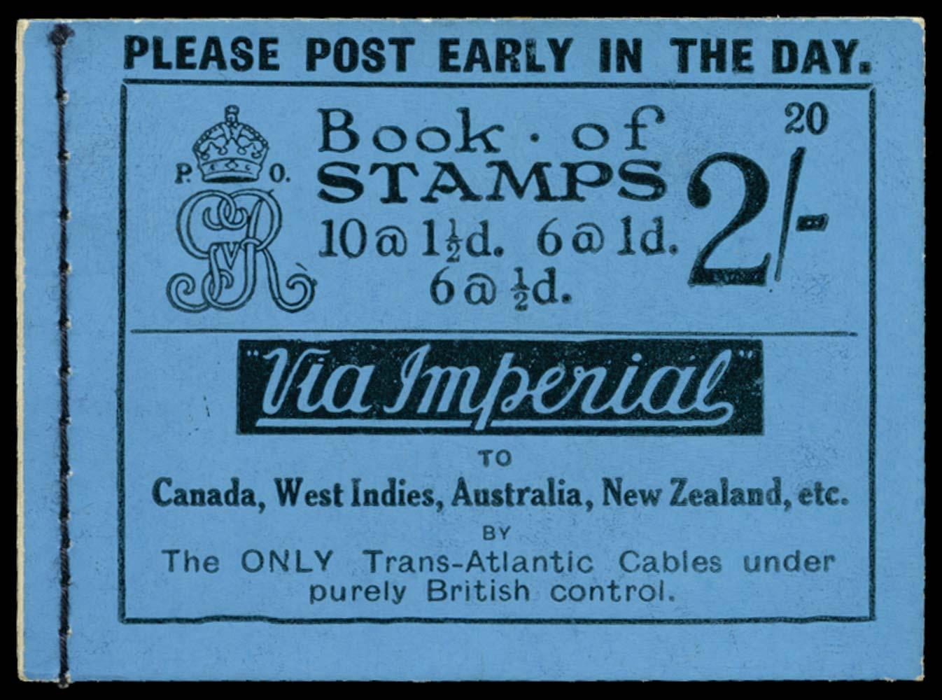 GB 1924  SGBB12 Booklet (Edition 20)
