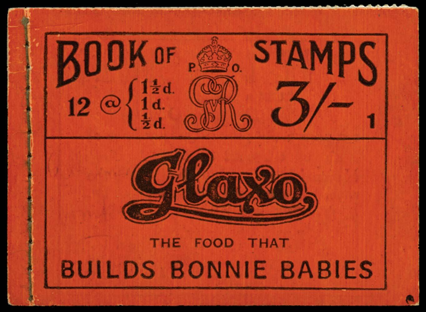 GB 1919  SGBB18 Booklet (Edition 1)