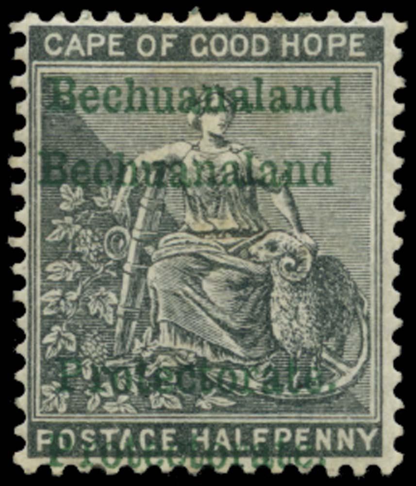 BECHUANALAND 1888  SG52a Mint