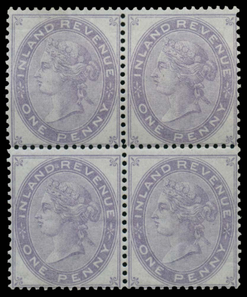 GB 1878  SGF22 Postal Fiscal - Die 4