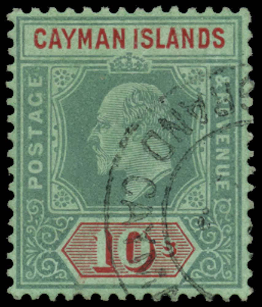 CAYMAN ISLANDS 1907  SG34 Forgery