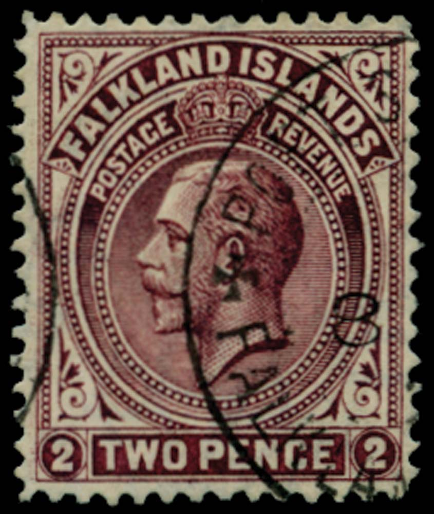 FALKLAND ISLANDS 1912  SG62a Used
