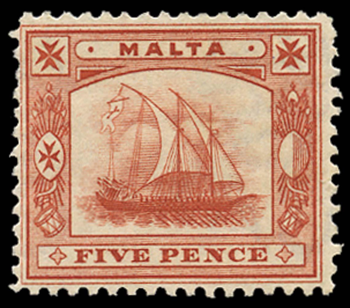 MALTA 1899  SG33x Mint
