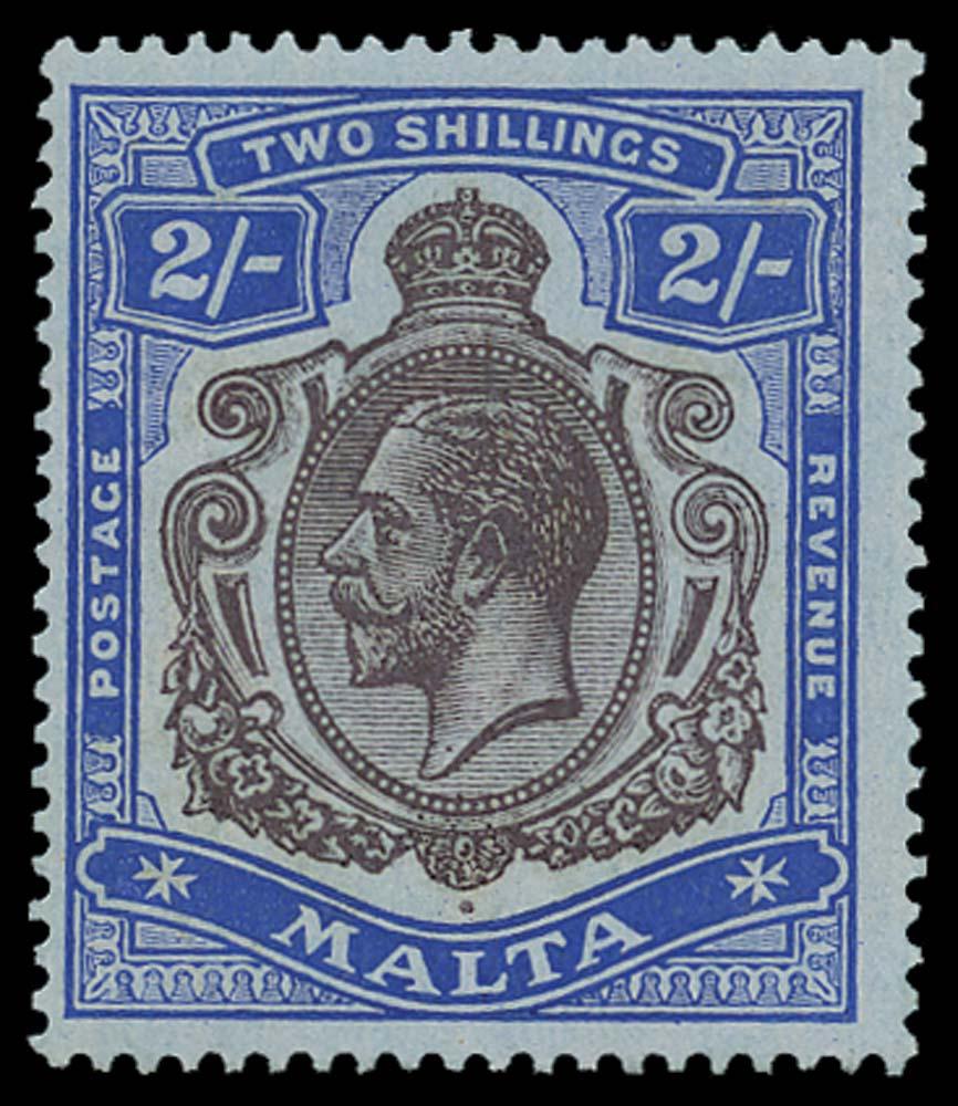 MALTA 1914  SG86g Mint