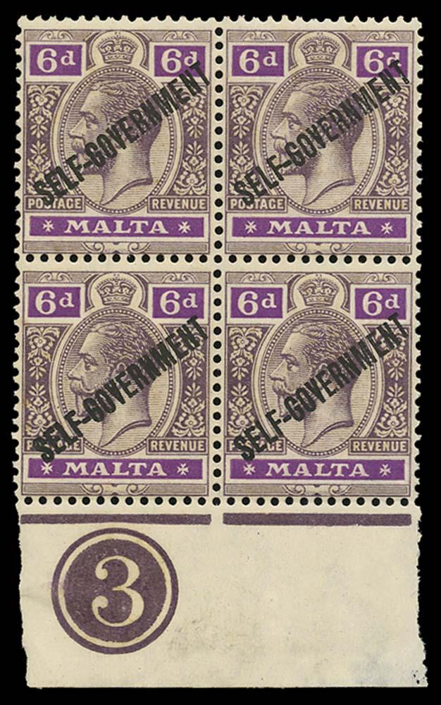 MALTA 1922  SG119 Mint