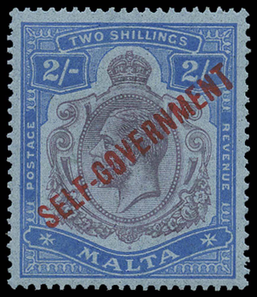 MALTA 1922  SG120c Mint